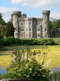 Johnstown Castle. 19th century victorian Johnstown Castle, Co. Wexford, Ireland Royalty Free Stock Photo