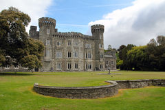 Johnstown castle facade Stock Images