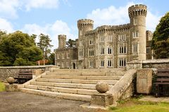 Johnstown Castle. county Wexford. Ireland. Royalty Free Stock Images