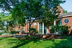Johnszaal bij Furman-Universiteit royalty-vrije stock foto