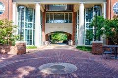Johnszaal bij Furman-Universiteit stock afbeeldingen