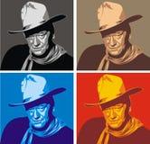 Johny Wayne ilustración del vector