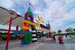 JOHOR - 14 ΝΟΕΜΒΡΊΟΥ: Κυρία είσοδος σε Legoland Μαλαισία στις 14 Νοεμβρίου 2012 σε Johor Μαλαισία Στοκ Φωτογραφίες