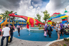 JOHOR - 14 ΝΟΕΜΒΡΊΟΥ: Legoland σε Johor Μαλαισία στις 14 Νοεμβρίου 2012 Λούνα παρκ Legoland στη Μαλαισία Στοκ Εικόνα