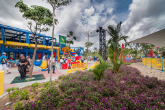 JOHOR - 14 ΝΟΕΜΒΡΊΟΥ: Legoland σε Johor Μαλαισία στις 14 Νοεμβρίου 2012 Λούνα παρκ Legoland στη Μαλαισία Στοκ φωτογραφίες με δικαίωμα ελεύθερης χρήσης