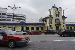 Johor Bahru alte Bahnstation Lizenzfreies Stockbild