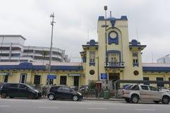 Johor Bahru alte Bahnstation Stockfotografie