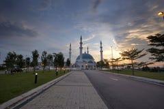 JOHOR BAHRU, Malasia 19 de octubre de 2017: La exposición larga Pictur Fotos de archivo