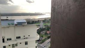 Johor Bahru miasta widok zdjęcie wideo