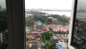 Johor Bahru miasta widok zbiory wideo