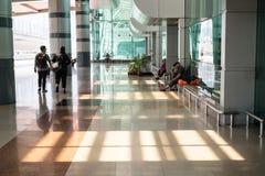 Johor Bahru sentral drevstation Royaltyfri Bild