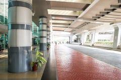 Johor Bahru sentral drevstation Arkivbilder