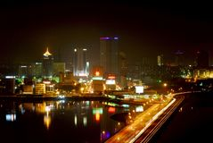 Johor Bahru stad Royaltyfri Bild