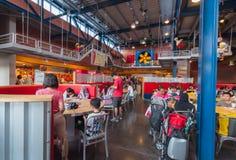 JOHOR - NOVEMBER 14: Interior cafeteria at Legoland Malaysia on November 14, 2012 in Johor Malaysia. Royalty Free Stock Photography