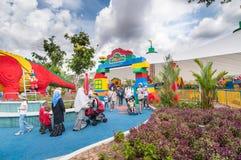 JOHOR - NOVEMBER 14: Legoland i Johor Malaysia på November 14, 2012 Nöjesfält av Legoland i Malaysia arkivfoto