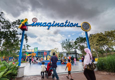 JOHOR - 14 NOVEMBRE : Legoland dans Johor Malaisie le 14 novembre 2012 Parc d'attractions de Legoland en Malaisie Photo stock