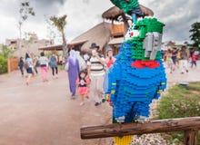 JOHOR - 14 NOVEMBRE: Legoland in Johor Malesia il 14 novembre 2012 Parco di divertimenti di Legoland in Malesia Fotografia Stock Libera da Diritti