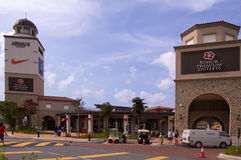 The Johor Premium Outlet Shopping Centre Royalty Free Stock Photography
