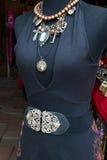 Joia do boutique dos acessórios de forma das mulheres imagens de stock royalty free