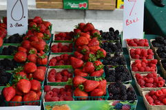 Joia do mercado do fazendeiro de Califórnia Foto de Stock