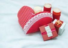 Joia feito a mão no dia do ` s do Valentim Imagens de Stock Royalty Free