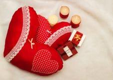 Joia feito a mão no dia do ` s do Valentim Foto de Stock Royalty Free