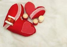 Joia feito a mão no dia do ` s do Valentim foto de stock