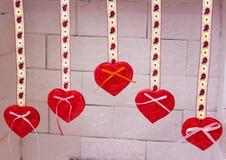 Joia feito a mão no dia do ` s do Valentim imagem de stock royalty free