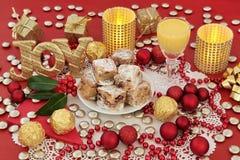Joie à Noël Images libres de droits