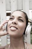 Joie audio Image libre de droits