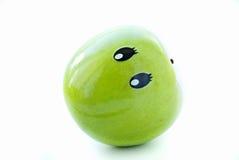 Joie d'Apple avec un visage Image stock