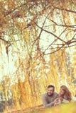 Joie d'automne Photographie stock libre de droits