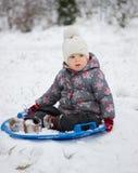 Joie d'hiver Image libre de droits