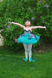 Joie de ballet Images libres de droits