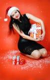 Joie de cadeaux de Noël Image stock