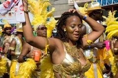 Joie de carnaval Photo libre de droits