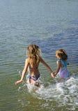 Joie de l'eau d'été Image stock