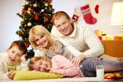 Joie de Noël photo libre de droits
