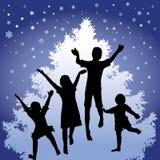 Joie de Noël illustration stock