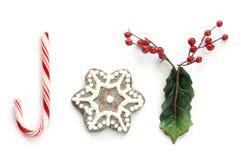 Joie de Noël (sans cadre) Photographie stock libre de droits