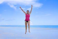 joie de plage Photographie stock
