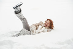 Joie des hivers Image stock