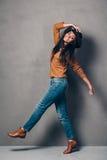 Joie et style purs Photographie stock libre de droits