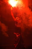 Joie lunaire I d'an neuf - la couleur rouge propice Images stock