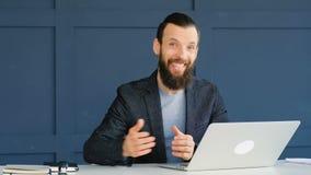 Joignez l'offre d'emploi de location recruteuse d'affaires d'équipe banque de vidéos