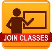 Joignez les classes images libres de droits