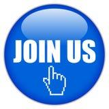 Joignez-nous Photo libre de droits