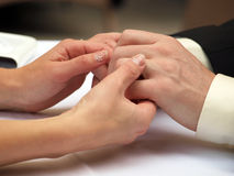 Join hands. This is love! Royalty Free Stock Photo
