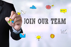 JOIN OUR TEAM Stock Image