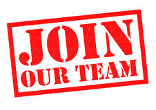 JOIN OUR TEAM Stock Images